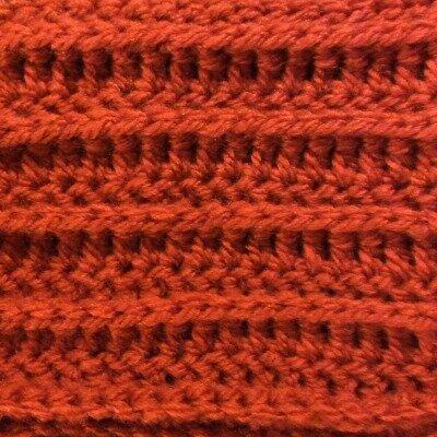 Crochet Stitches Raised Treble Front : Textured Crochet Stitches